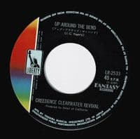 CREEDENCE CLEARWATER REVIVAL Up Around The Bend Vinyl Record 7 Inch Japanese Liberty 1970